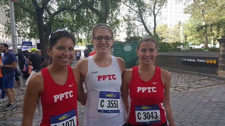 Post-Race with PPTC Teammates